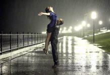 kisa romantika ljubav